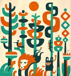 illustration / april-december 10 by iv orlov, via Behance