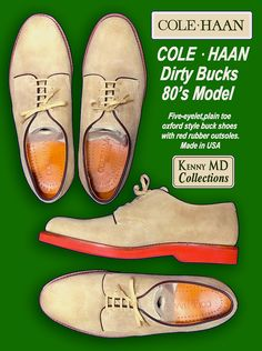 Cole Haan Dirty Bucks 80's Model