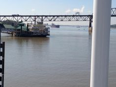 The Mighty Mississippi River served as the backdrop for #Idol auditions in Baton Rouge via @American Idol