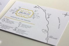Oh So Beautiful Paper: Brooks + Erin's Romantic Sonoma Valley Wedding Invitations