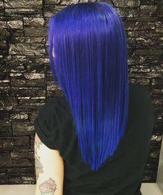 Beautiful blue hair #edenico  www.edensalon.it