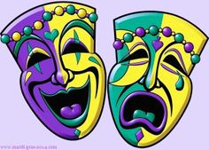 These two faces represent how Juana was dynamic and changed from happy to anxious about the pearl.