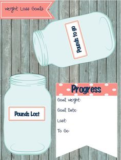 Weight Loss Tracker Dashboard For Erin Condren by PlanwithFran