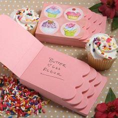 Le carnet de note cupcake