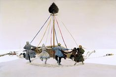 Snow Hill (by: Andrew Wyeth)