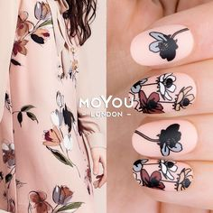 """1,452 Likes, 5 Comments - MoYou-London Official (@moyou_london) on Instagram: """"Love love love @twinsetofficial coat!⠀ ⠀ 💅Products included: ⠀⠀⠀⠀⠀⠀⠀⠀⠀⠀⠀⠀⠀⠀⠀ 👉Plates - Flower Power…"""""""