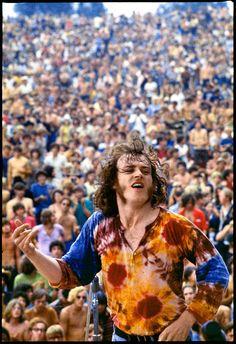 Joe Cocker At Woodstock, 1969.