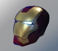 Picture of 3D Printing an Ironman Helmet