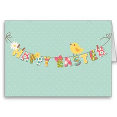 Easter Banner Cards
