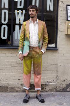 Agi & Sam Suit | Street Fashion | Street Peeper | Global Street Fashion and Street Style