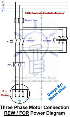 d8cf177b0d89aa98bba16a3d6b0ffdc7  Phase Motor Starter Wiring Diagram For Forward Rev on