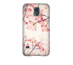 Pretty flower Samsung galaxy S6 case pink by semisweetstudios