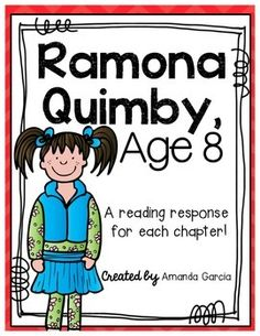 Through ramona quimby age 8 with a variety of ccss aligned reading