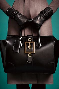The Gloves...Perfection....and the Bag, OUTSTANDING, Gucci 2013