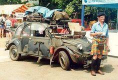 2 cv Manx, Vintage Cars, Antique Cars, Cj Jeep, 2cv6, Super 4, Abandoned Cars, Car Humor, Amazing Cars