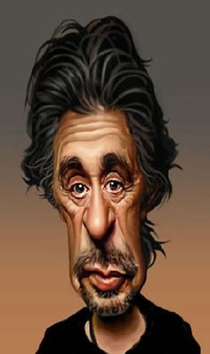 Al Pacino - illustration by Louis Gaspardo