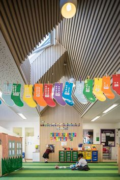 Image 2 of Winner: Whitehorse Manor School; London / Hayhurst and Co. Learning Spaces, School Architecture, Awards, Nursery, London, Education, Gallery, Projects, Kids
