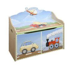 Teamson Transportation Toy Box