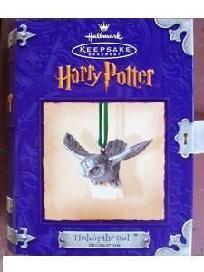 Harry Potter's Pet Owl - Hedwig  Ornament in Keepsake Bookbox http://yardsellr.com/yardsale/Patricia-Coats-541127