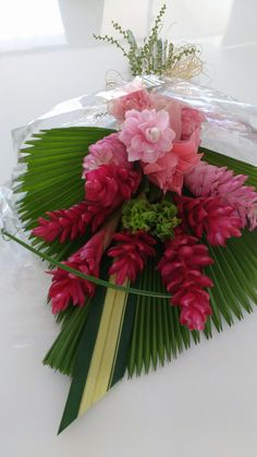 Bouquet com tropicais