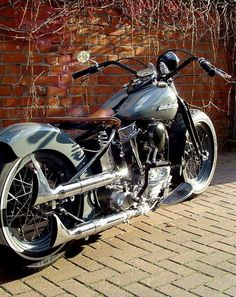 August 2018 at Credit: Bobber Inspiration . As their channel suggests, they have awesome Biker content and we just love t. Harley Davidson Panhead, Harley Softail, Harley Bobber, Harley Bikes, Bobber Motorcycle, Bobber Chopper, Cool Motorcycles, Motorcycle Design, Vintage Motorcycles