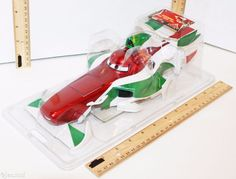 RIDEMAKERZ FRANCESCO RACER DISNEY CARS 2 CLASSIC RIDE-MAKERS RC OUTER SHELL NEW…