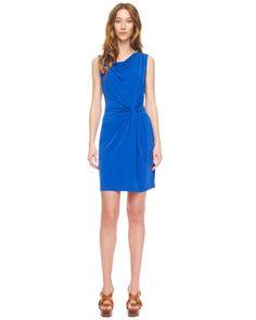 Twist-Knot Jersey Dress by MICHAEL Michael Kors at Neiman Marcus.