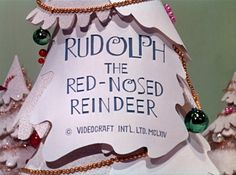 Rudolph the Red-Nosed Reindeer is a 1964 Christmas stop motion animated television special produced by Videocraft International, Ltd. Christmas Tv Shows, Christmas Past, Retro Christmas, Little Christmas, Christmas Movies, All Things Christmas, Christmas Holidays, Christmas Specials, Christmas Classics