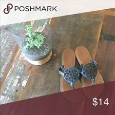American Eagle black sandals. Size: 7.5 Comfortable, cute American Eagle black sandals. Size: 7.5 American Eagle Outfitters Shoes Sandals