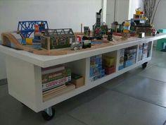 Children's Mobile Activity Table! Brilliant!