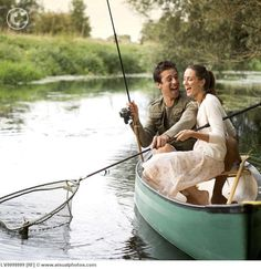 True love is when he will fish with you :)