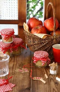 Country Living ~ Apples & Apple Butter ~ Fall