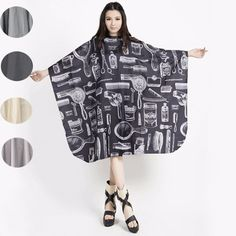 BINGBLA - Pro Salon Hair Hairdressing Hairdresser Cutting Gown Barber Cape Cloth #Unbranded
