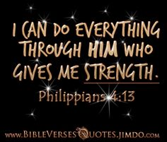 BIBLE VERSES ABOUT STRENGTH...