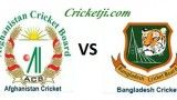 Afghanistan vs Bangladesh Live Match Streaming