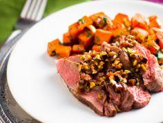 Sous Vide Moroccan Sirloin Steak