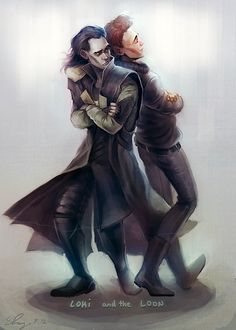 "Tom Hiddleston ""Loki"" Fan art - Tom and Loki Love it!"