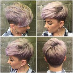 """Katie Sanchez on Instagram: """"Zimbalibabes got me workin overtime! @beautybylena916 hairdo of the week! #lavanderhair #fabpro @evohair #ilovemyjob @zimbalisalonspa @behindthechair_com """""""