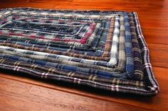 """Rag Kitchen Rug - moonlight - 20""""x30"""" Rectangle clearance price $22.00  July 17 2015"""