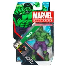 Marvel Universe Series 4 Action Figure 19 Incredible Hulk 375 Inch >>> You can get more details by clicking on the image.