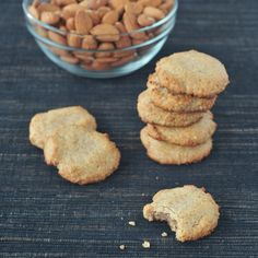 easiest almond cookies from Naturally Sweet and Gluten-Free, win a copy! Ends 10/12/13.