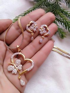Buy Craftsvilla New Indian Bollywood Style Gold Plated Fashion Bridal Jewelry Necklace Set Online Women's Jewelry Sets, Stylish Jewelry, Bridal Jewelry Sets, Jewelry Accessories, Women Jewelry, Fashion Jewelry, Bridal Jewellery, Trendy Accessories, Simple Jewelry
