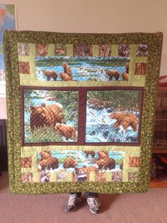 Bears and critters quilt