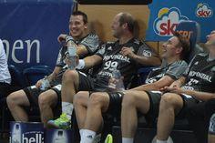Having fun  :)) ;) THW Kiel said goodbye to Christian Zeitz , Dominik Klein, Filip Jícha