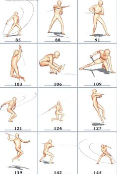 Figure Reference, Drawing Reference Poses, Drawing Poses, Manga Posen, 3d Pose, Sword Poses, Sword Drawing, Fighting Poses, Anatomy Poses