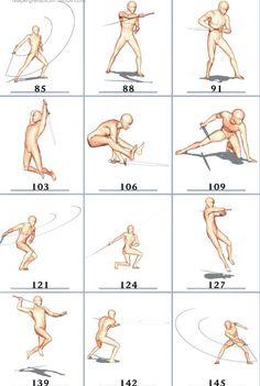 Figure Drawing Reference, Art Reference Poses, Action Posen, Manga Posen, 3d Pose, Sword Poses, Sword Drawing, Fighting Poses, Anatomy Poses