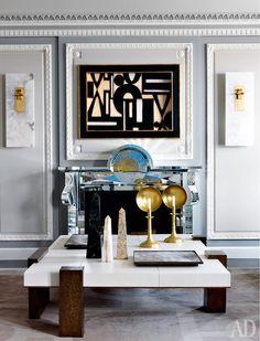 Жан-Луи Денио оформил квартиру в Чикаго | AD Magazine/Jean-Louis Deniot