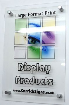 Photograph digitally printed on Perspex Panels - Acrylic glass