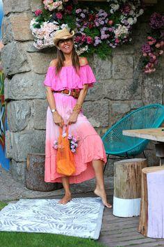 Ibiza Fashion, Teen Fashion, Womens Fashion, Boho Chic, Moda Boho, Elegant Saree, Ibiza Style, Boho Style, Vestidos