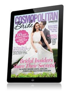 Cosmopolitan Bride features interactive and engaging content for brides to be in Singapore, with updates about the best gowns, bridesmaids' dresses, jewelry & decor ideas. Now available for the iPad!